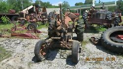 Ac Allis Chalmers B Tractor With Belly Mower