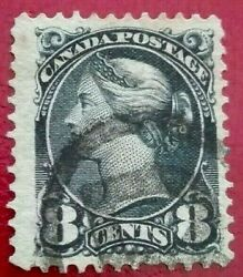 Canada 1893 Queen Victoria 8 C. Rare And Collectible Stamp.