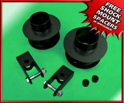 3.5 Steel Front Leveling Lift Kit Stock Extenders Fits 2005-2020 Ford F-350 4wd