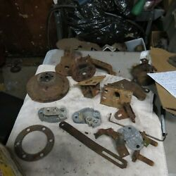 1961 1962 1963 Ford Thunderbird Misc Brackets And Parts Oem Lot Pulley Battery
