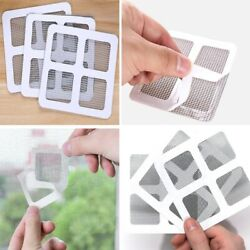 1-10pcs Fix Net Window Home Adhesive Stickers Anti Mosquito Fly Bug Insect Repai