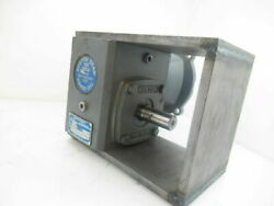 F718-10sv-b5-j3andnbsp - Boston Gear Right Angle Gearbox 10 Ratio Used Tested