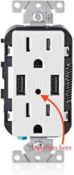 1080p Hd Wall Ac Wifi Functional Receptacle Outlet Hidden Spy Camera Audio Video