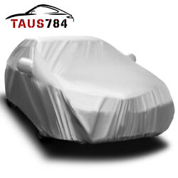16ft Full Car Cover Auto Protection All Weather Shelter Sun UV Snow Resistant
