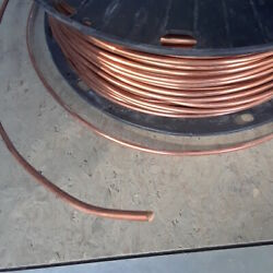 8 Awg Soft Annealed Ground Wire Solid Bare Copper 25ft 50ft 75ft 100ft 100and039 75and039
