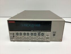 Keithley 6487 Autoranging Picoammeter / Voltage Source Tested