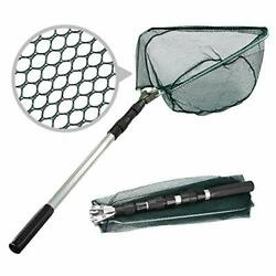 Fishing Landing Net Telescope Foldable Collapsible Extensible For Bird