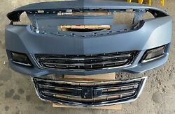 Front Bumper Cover Fits 2014-2015-2016-2017-2018-2019 Chevy Impala 14-19 Grilles