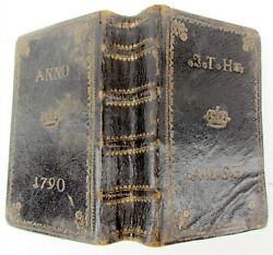 1788 German Martin Luther Bible Antique Biblia Old And New Testaments