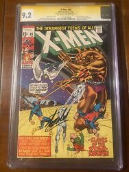 X-men 65 2/70 Cgc 9.2 Oww Ss Stan Lee And Neal Adams Nice Collectible