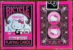 1 Deck Bicycle Hello Kitty Japan Playing Cards Usa Seller