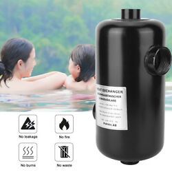 Stainless Steel Swimming Pool Heat Exchanger Heater Pool Thermostat Equipment Ac