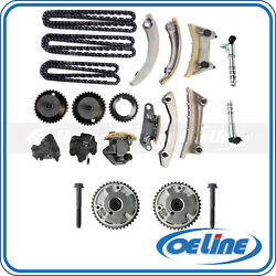 Timing Chain Kit Vvt Sprocket Timing Solenoid For 07-16 Buick Chevrolet Cadillac