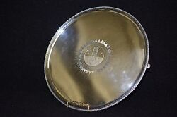 18th Century English Sterling Silver Table Tray By Carter Smith And Sharp