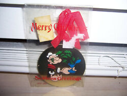 King Feature Syndicate Christmas Ornament Popeye The Sailor Man