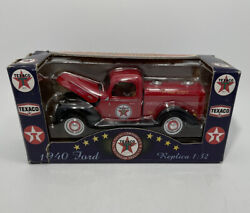 Texaco Mini Tanker Old Timer Collection Ii 1940 Ford Tow Truck Diecast K-94537
