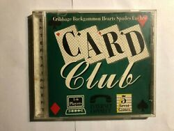 Card Club Cribbage Backgammon Hearts Spades 5 Great Games Pc Computer Game