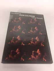 Rare Two Hours Of John Coltrane Live In Concert Dvd Anonymous Film Archive 10