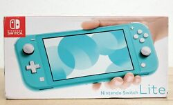 Nintendo Switch Lite Handheld Video Game Console Turquoise Hdh-001