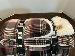 Ugg Classic Avery Throw Blanket In Plaid 50x70 Brand New Plaid