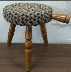 Mid-century Milking Stool - Authentic Furniture Products, Calif.- Made In Japan
