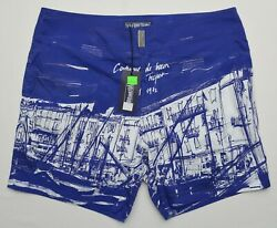 Vilebrequin 11044 New Menand039s Size Large Multicolor Lined Swim Trunks