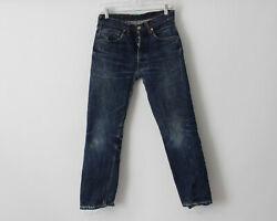 Vintage 1960's Levi's 501 Jeans Big E 27.5 X 27.5 Distressed Made In The Usa