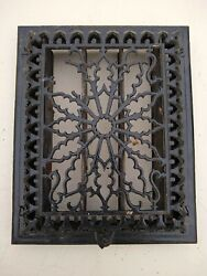 9.5 X 12 Cast Iron Floor Wall Register Heat Grate Vent Grille Louver - 1869