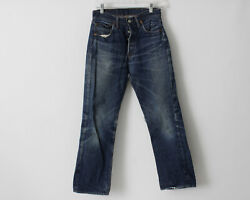 Vintage 1960's Levi's 501 Jeans Big E 28 X 28.25 Distressed Made In The Usa