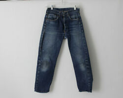 Vintage 1960's Levi's 501 Jeans Big E 28 X 27 4 Distressed Made In The Usa