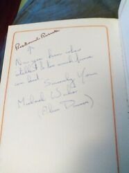 Doctor Who Autographs, 6 Classics In One Book, Michael Wisher Davros And More.