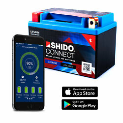 Shido Ltx9 Lithium Connect Battery Ytx9-bs Smartphone Android Iphone Ios
