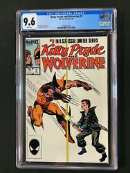 Kitty Pryde And Wolverine 3 Cgc 9.6 1985