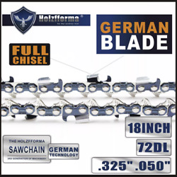 Saw Chain .325 .050 18inch 72dl Compatible With Husqvarna 435 440 445 450 455