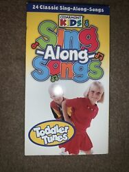 Vhs Cedarmont Kids Sing Along Songs Vhs 24 Classic Toddler Tunes Educational