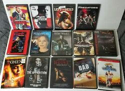 Dvd Lot Of 14 Good Titles The Omen Total Recall Left For Dead Silent House