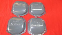 Lot Of 4 Lycoming Valve Covers O235 O320 O360 O540 P/n 61247 Parallel Valve