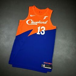 100 Authentic Tristan Thompson Nike Cavaliers City Game Issued Jersey 48+4