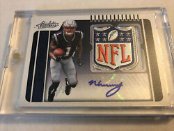 2019 N'keal Harry Absolute Football True 1/1 Rookie Nfl Shield Patch Auto Pats