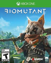 Biomutant - Xbox One And Xbox One Series S X - New Free Us Shipping
