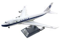 Inflight 200 If742rg0719p 1/200 Varig B747-200 Reg Pp-vnc Polished With Stand