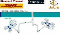 Ossio 404 Led Ot Light 135000 Lux Double Dome Ceiling Ot Lamp General Surgery