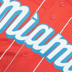 Nike Miami Marlins Sugar Kings Nike 2021 City Connect Official Replica Jersey