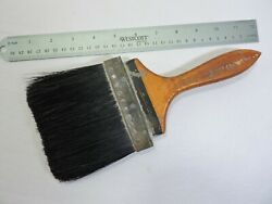 Vintage Rubberset Co. 4 All Pure Bristol Wood/leather Paint Brush