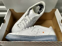 Converse Pro Leather Ox Rokit Low Top White Blue Oriole 169217c Size 10