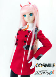 Darling In The Franxx 02 Zero Two Costume Uniform For Sd Dd 1/3 Bjd Doll Cosplay