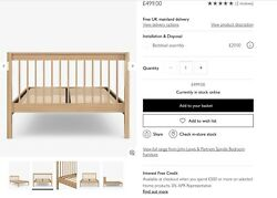 John Lewis And Partners Spindle Bed Kingsize