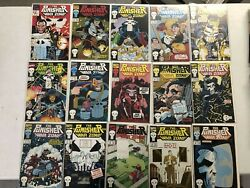 Marvel Comic Lot The Punisher War Zone 1 2 3 4 5 6 7 8-41 Vf/vf+ Bagged Boarded