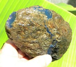 Dominican Amber Stone Blue Natural Authentic Rough 427.5 Gr A869