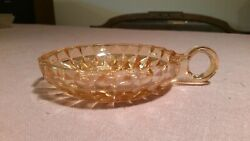 Antique Estate Sale Third Generation Familly Owned ◇ Glass Candle Holder Or Pan